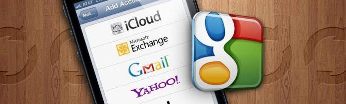 как синхронизировать контакты iphone с gmail