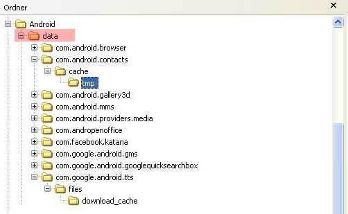 где в андроиде хранятся контакты