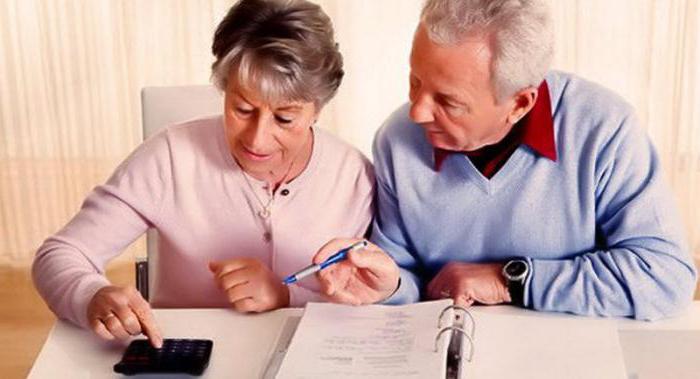 размер алиментов на родителей пенсионеров