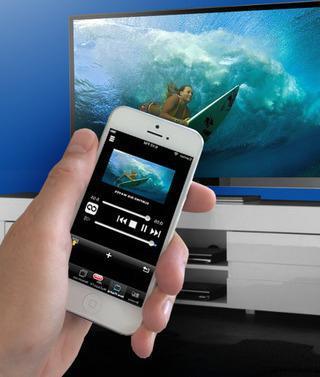 как айфон подключить к телевизору самсунг