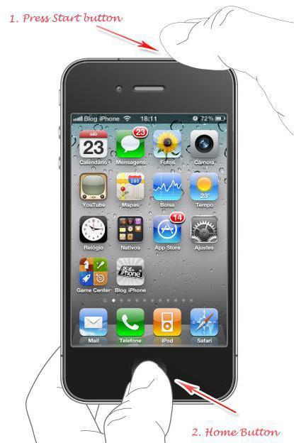 Не включается айфон горит яблоко и все. Айфон не включается: горит яблоко и гаснет