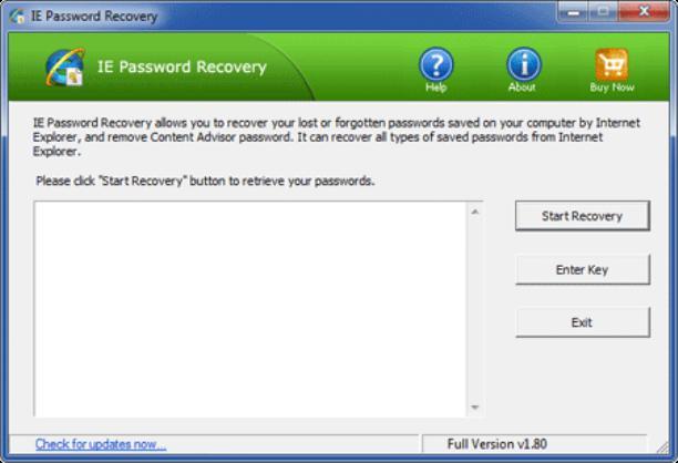 Программа для просмотра паролей в Internet Explorer
