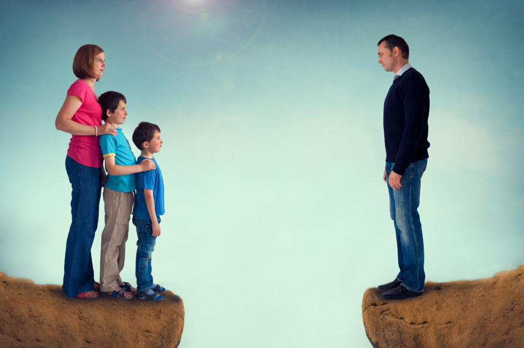 Порядок общения отца с детьми после развода