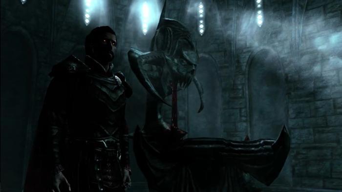 скайрим как излечиться от вампиризма в алтаре