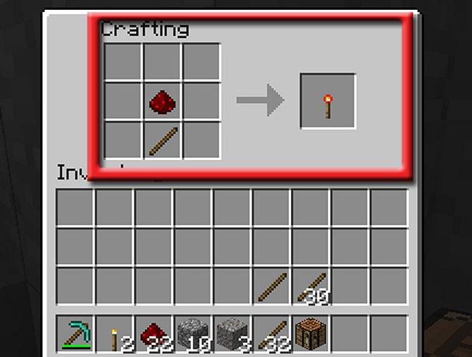 как сделать майнкрафте факел #3