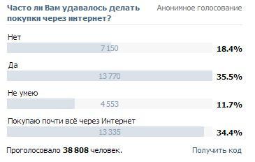 бесплатная накрутка опросов вконтакте