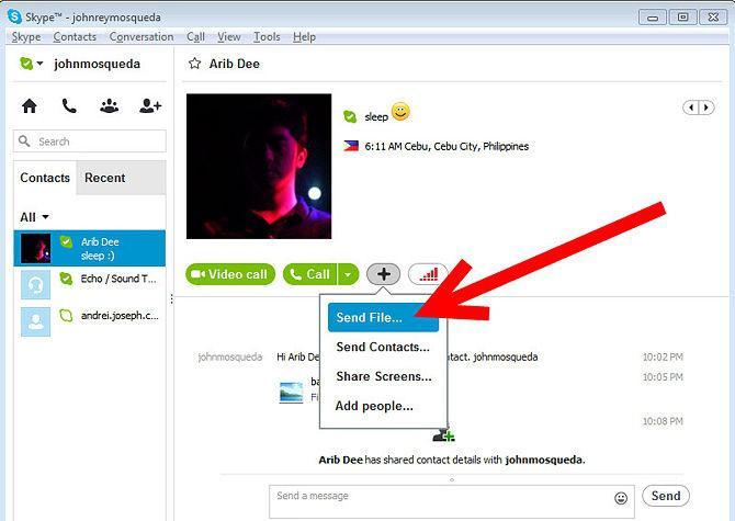 Как перенести со скайпа в фейсбук