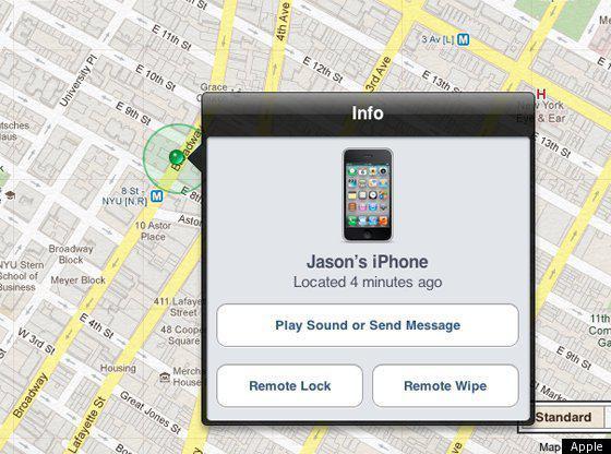 разблокировка найденного iphone 5