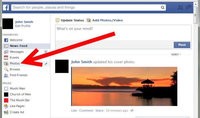 она одна как выложить несколько фото в фейсбук это совершенно удивительно