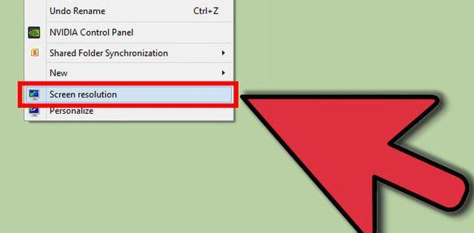 Изменение разрешения экрана windows 7