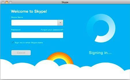 skype нет соединения