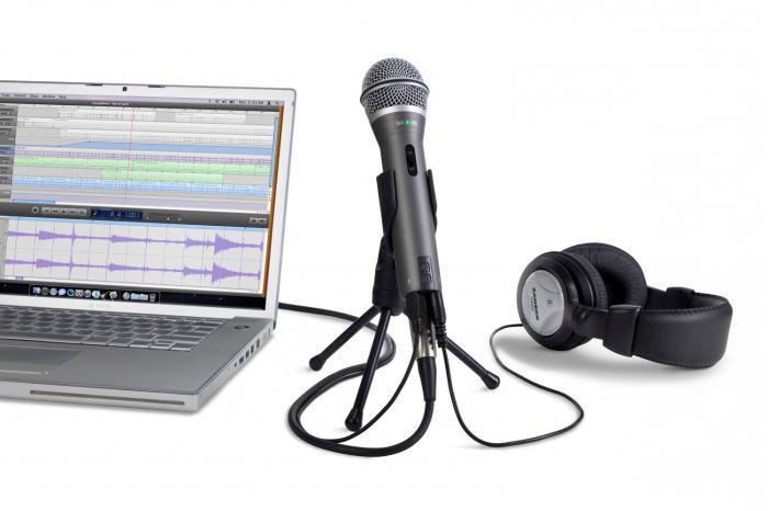 Как подключить микрофон для караоке к компьютеру (Windows 7) ?