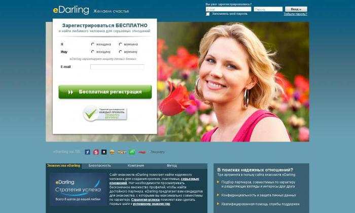 Сайт знакомств на дарлинг