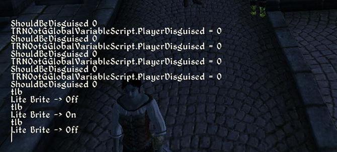 Обливион коды к игре