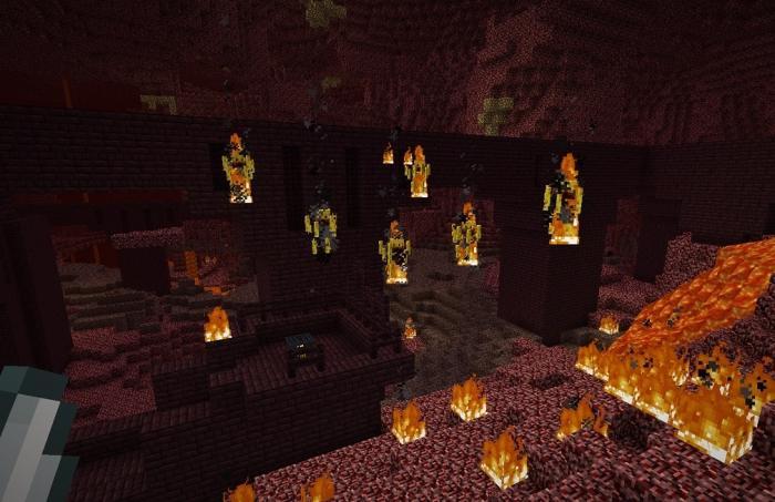 огненный шар minecraft