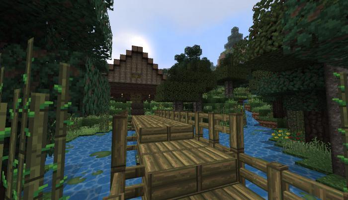 механический дом в minecraft