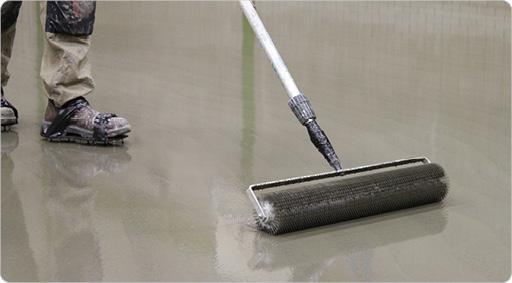 укладка линолеума на бетонные полы