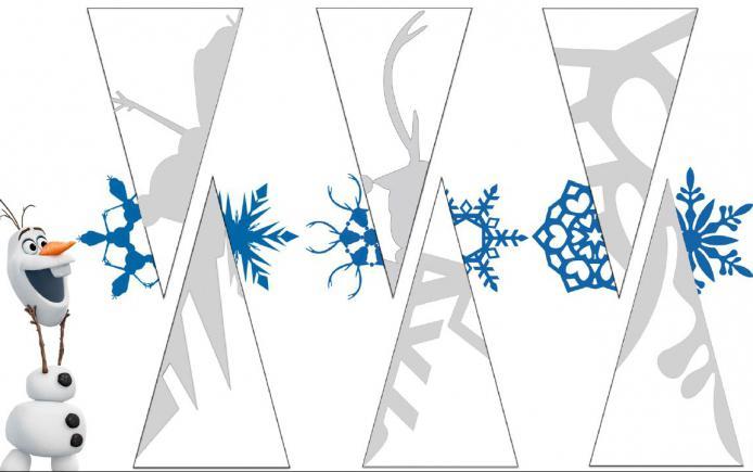 шаблоны для вырезания снежинок