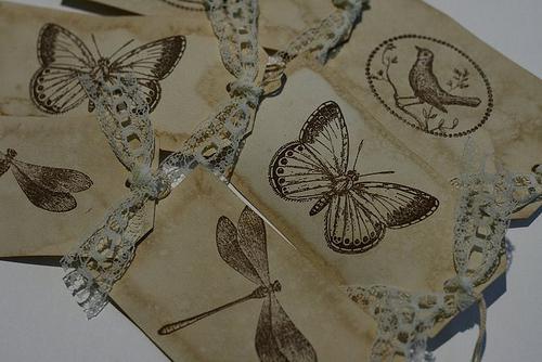 открытки в винтажном стиле