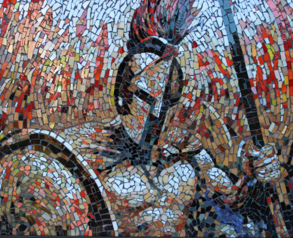 814254 Мозаичная картина своими руками
