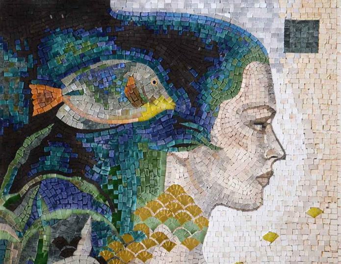 814255 Мозаичная картина своими руками