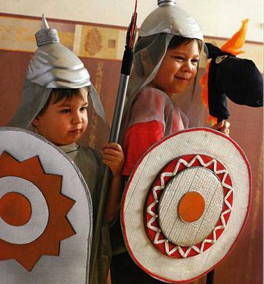 шлем богатыря своими руками