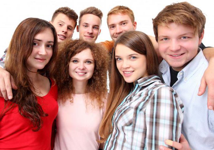 неформальные группы и их знакомые