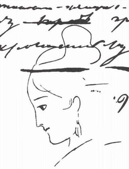 пушкин и керн история любви