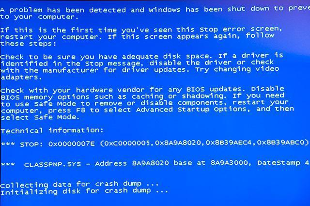 windows 7 system32 drivers classpnp.sys