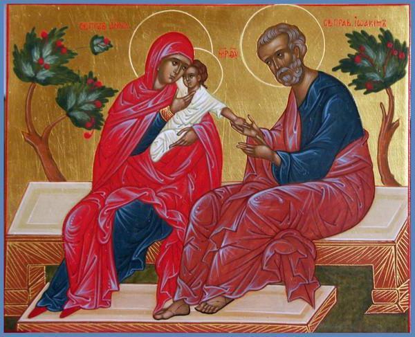 икона где богородица беременная
