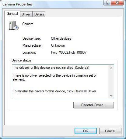 ошибка код 28 скачать драйвер windows 7
