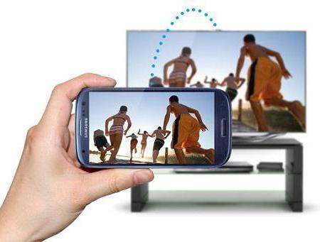 видео через телефон на телевизор