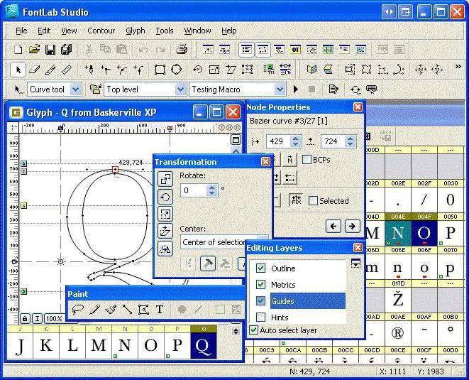 программа для создания рукописного шрифта