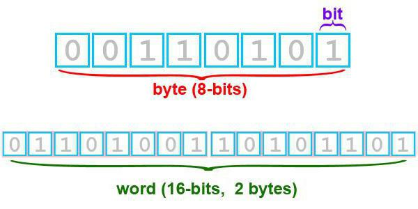 формы представления информации в компьютере