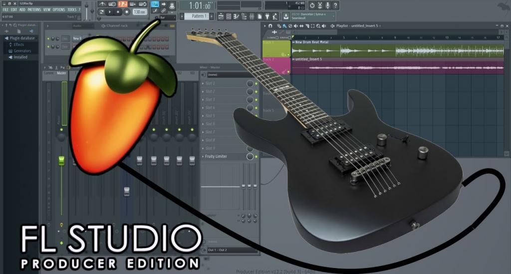 подключить guitar rig fl studio