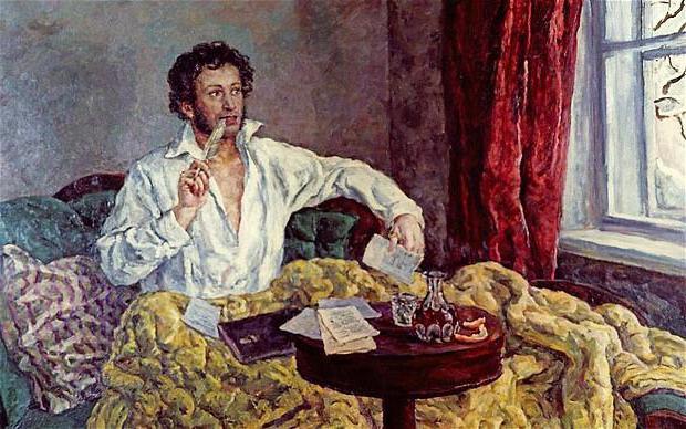 Хронологическая таблица жизни Пушкина