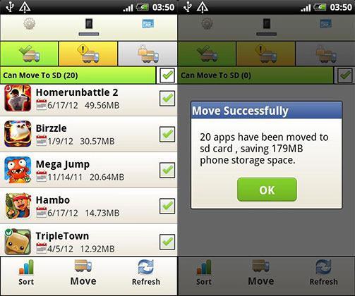android запуск приложения