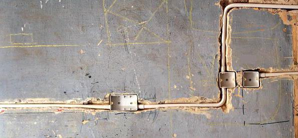 Штробление стен под проводку в панельном доме снип