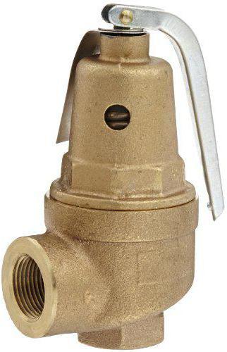 настройка предохранительного клапана системы отопления