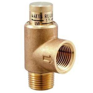 регулировка предохранительного клапана системы отопления