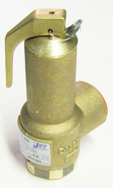 предохранительный клапан на обратном трубопроводе систем отопления