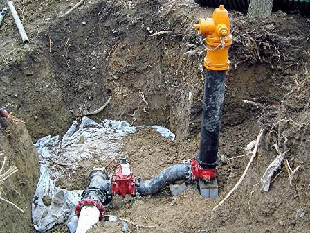 устройство пожарного гидранта в колодце