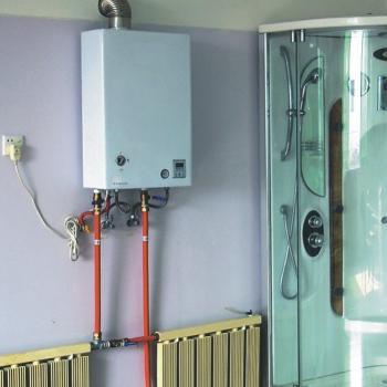 Разводка отопления в частном доме с настенным котлом фото
