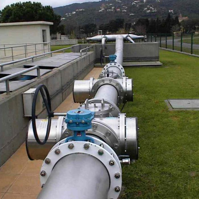 монтаж системы канализации