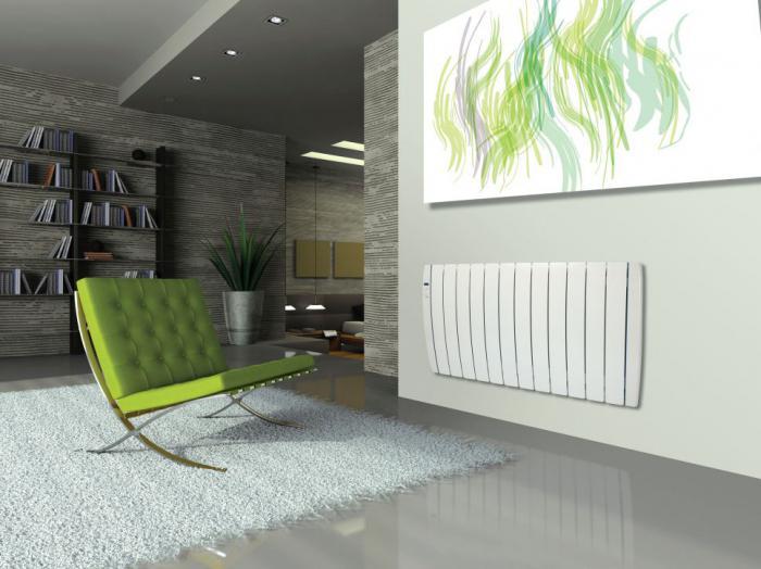 Электрический радиатор отопления настенный
