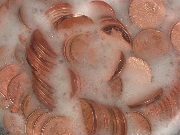 Как чистить латунные монеты в домашних условиях