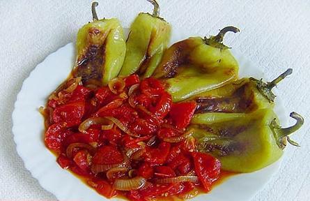 Как сделать перцы в томатном соке на зиму 89
