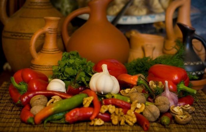 Зелeная аджика  кулинарный рецепт