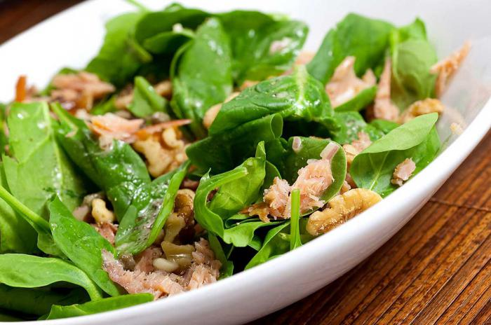 Салат из лосося рецепт