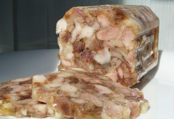 Как сделать зельц из свинины в домашних условиях